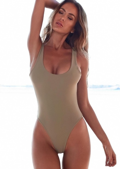 full range of specifications diversified in packaging great discount Somerfield High Thigh Cut Swimsuit